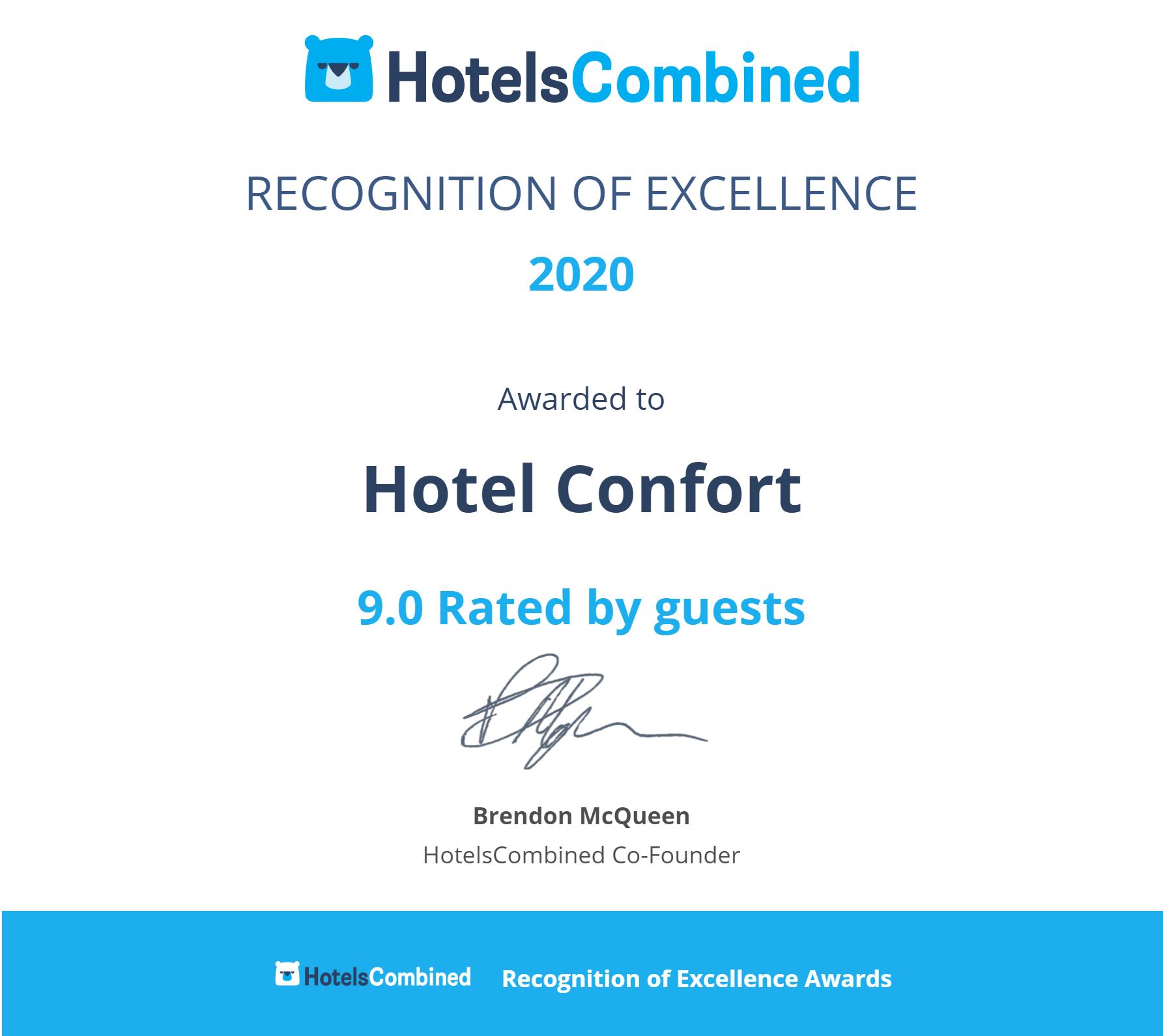 Hotel_Confort_Cluj_Napoca_Certificate-1
